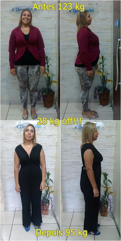 Antes e Depois Daniela da Silva Cardoso Duarte