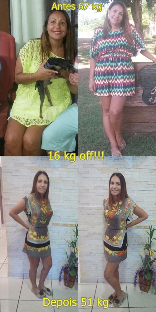 Antes e depois Patricia Rego
